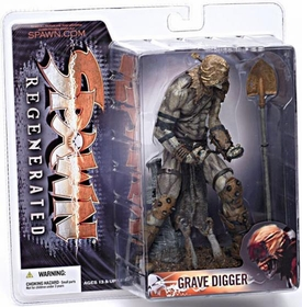 McFarlane Toys Spawn Series 28 Regenerated Action Figure Grave Digger