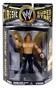 WWE Wrestling Classic Superstars Series 21 Action Figure Chris Jericho