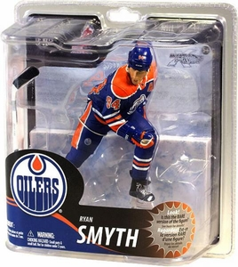 McFarlane Toys NHL Sports Picks Series 30 Action Figure Ryan Smyth (Edmonton Oilers) Blue Jersey