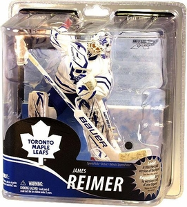 McFarlane Toys NHL Sports Picks Series 30 Action Figure James Reimer (Toronto Maple Leafs) White Jersey Bronze Collector Level Chase Only 2,000 Made!