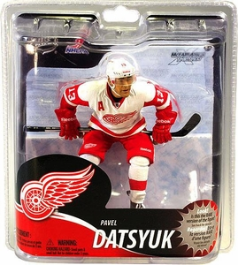 McFarlane Toys NHL Sports Picks Series 30 Action Figure Pavel Datsyuk (Detroit Red Wings) White Jersey Bronze Collector Level Chase Only 1,250 Made!