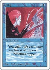 Magic the Gathering Unlimited Edition Single Card Uncommon Lifetap
