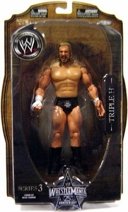 WWE Wrestlemania 25 Series 3 Action Figure Triple H
