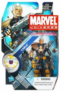 Marvel Universe 3 3/4 Inch Series 13 Action Figure #7 Cable [WITH Baby Hope]