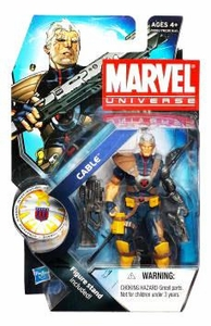 Marvel Universe 3 3/4 Inch Series 13 Action Figure #7 Cable [WITHOUT Baby Hope Variant]