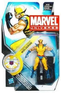 Marvel Universe 3 3/4 Inch Series 13 Action Figure #8 Wolverine [First Appearance]