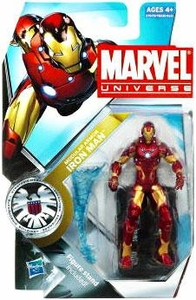 Marvel Universe 3 3/4 Inch Series 12 Action Figure #4 Iron Man [Current Modular Armor]