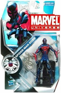 Marvel Universe 3 3/4 Inch Series 12 Action Figure #5 Spider-Man 2099