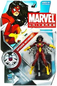 Marvel Universe 3 3/4 Inch Series 12 Action Figure #6 Spider-Woman