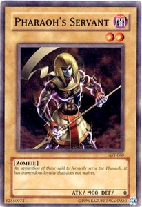 YuGiOh Ancient Sanctuary Single Card Common AST-060 Pharaoh's Servant
