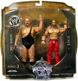 WWE Wrestlemania 25 Series 3 Action Figure 2-Pack Big Show & Edge