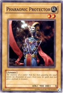 YuGiOh Ancient Sanctuary Single Card Common AST-061 Pharaonic Protector