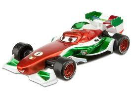 Disney / Pixar CARS 2 Movie Exclusive 1:55 Die Cast Car Francesco Bernoulli with Metallic Finish [Special Deco]