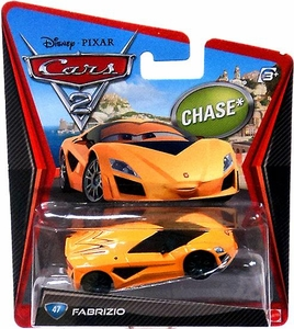 Disney / Pixar CARS 2 Movie 1:55 Die Cast Car #47 Fabrizio Chase Piece!