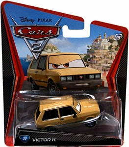 Disney / Pixar CARS 2 Movie 1:55 Die Cast Car #30 Victor H.