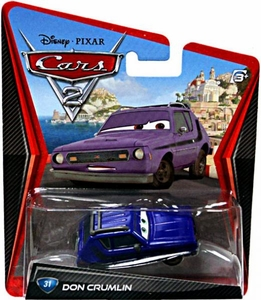 Disney / Pixar CARS 2 Movie 1:55 Die Cast Car #31 Don Crumlin