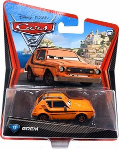 Disney / Pixar CARS 2 Movie 1:55 Die Cast Car #13 Grem