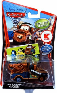 Disney / Pixar CARS 2 Movie Exclusive 1:55 Die Cast Car Pit Crew Mater [Includes Official Fan Pass]