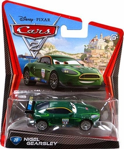 Disney / Pixar CARS 2 Movie 1:55 Die Cast Car #20 Nigel Gearsley Hot!