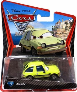 Disney / Pixar CARS 2 Movie 1:55 Die Cast Car #12 Acer