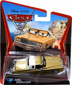 Disney / Pixar CARS 2 Movie 1:55 Die Cast Car #27 Mel Dorado