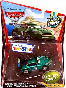 Disney / Pixar CARS 2 Movie Exclusive 1:55 Die Cast Car Nigel Gearsley with Metallic Finish [Special Deco]