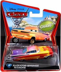 Disney / Pixar CARS 2 Movie 1:55 Die Cast Car #29 Radiator Springs Ramone Chase Piece!