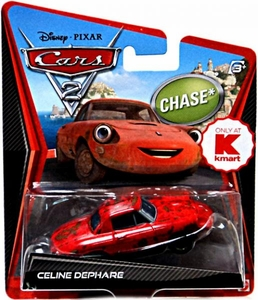 Disney / Pixar CARS 2 Movie Exclusive 1:55 Die Cast Car Celine Dephare Chase Piece!
