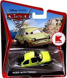 Disney / Pixar CARS 2 Movie Exclusive 1:55 Die Cast Car Acer with Blow Torch