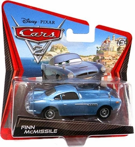 Disney / Pixar CARS 2 Movie 1:55 Die Cast Checkout Lane Package Finn McMissile