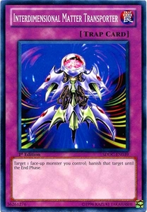 YuGiOh 5D's Dragons Collide Single Card Common SDDC-EN039 Interdimensional Matter Transporter