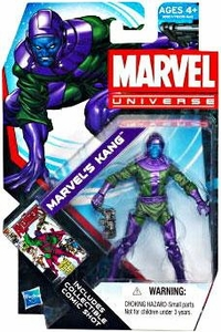 Marvel Universe 3 3/4 Inch Series 19 Action Figure #15 Marvel's Kang