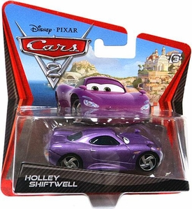 Disney / Pixar CARS 2 Movie 1:55 Die Cast Checkout Lane Package Holley Shiftwell