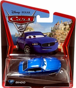 Disney / Pixar CARS 2 Movie 1:55 Die Cast Car #37 Bindo