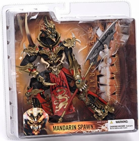 McFarlane Toys Spawn Series 28 Regenerated Action Figure Mandarin Spawn