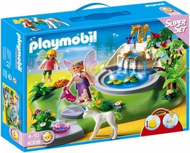 Playmobil Magic Castle Set #4008 Super Set Fairy Fountain