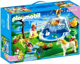 Playmobil Magic Castle Set #4137 Dream Garden Super Set