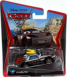 Disney / Pixar CARS 2 Movie 1:55 Die Cast Car #35 Kabuto