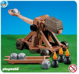 Playmobil Magic Castle Set #7700 Catapult