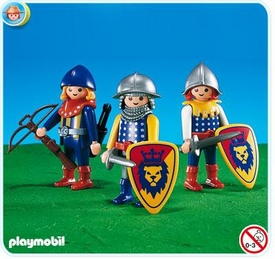 Playmobil Magic Castle Set #7768 3 King Knights