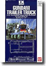 Gundam 1/144 Scale Basic Grade Model Kit Gundam EX Trailer Truck