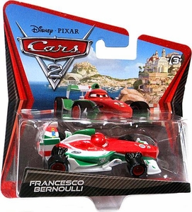 Disney / Pixar CARS 2 Movie 1:55 Die Cast Checkout Lane Package Francesco Bernoulli