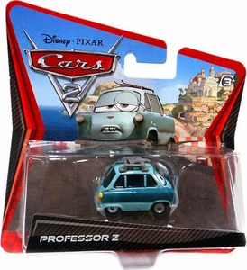 Disney / Pixar CARS 2 Movie 1:55 Die Cast Checkout Lane Package Professor Z