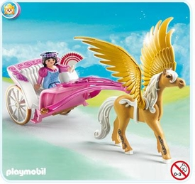 Playmobil Magic Castle Set #5143 Princess with Pegasus Carriage