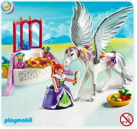 Playmobil Magic Castle Set #5144 Pegasus with Princess and Vanity