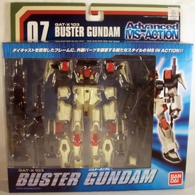 Gundam Advanced MSiA Mobile Suit in Action Figure #07 GAT-X103 Buster Gundam