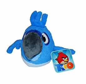 Angry Birds RIO 5 Inch Talking MINI Plush Blu