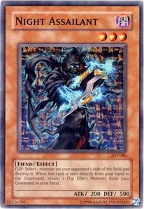 YuGiOh Ancient Sanctuary Single Card Common Night Assailant