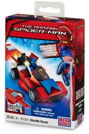 Amazing Spider-Man Mega Bloks Set #91323 Stealth Racer