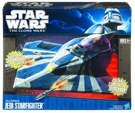 Star Wars 2010 Vehicle Plo Koon's Jedi Starfighter